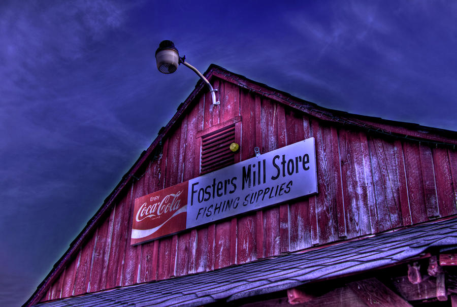 Fosters Mill Store Hdr Photograph
