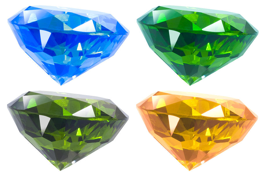 Four Diamond Jewelry  - Four Diamond Fine Art Print