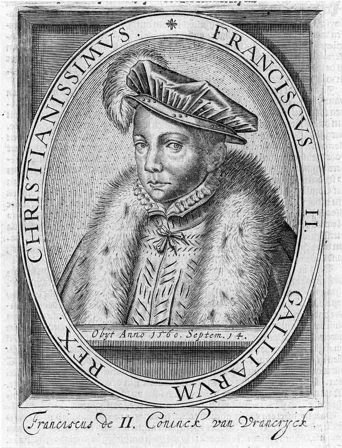 16th Century Photograph - Francis II (1544-1560) by Granger