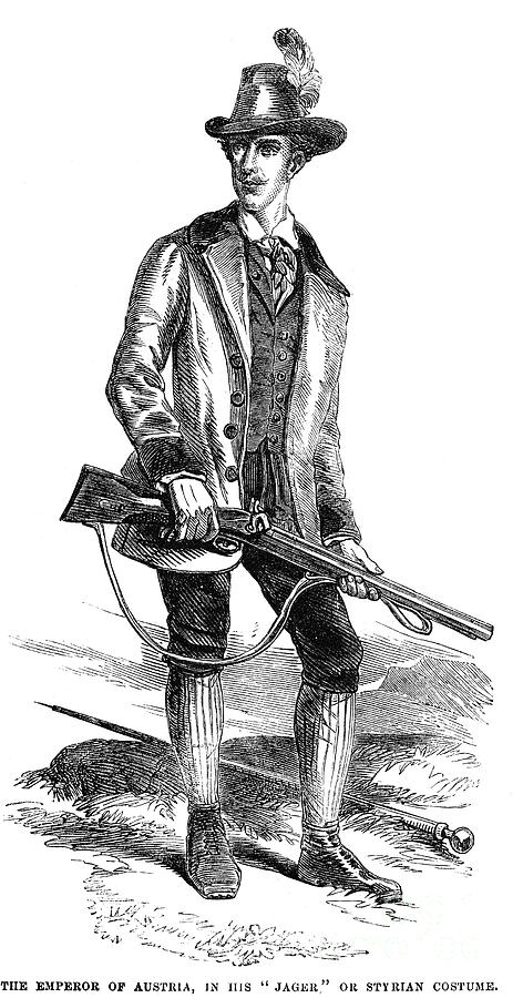 1855 Photograph - Francis Joseph I (1830-1916) by Granger