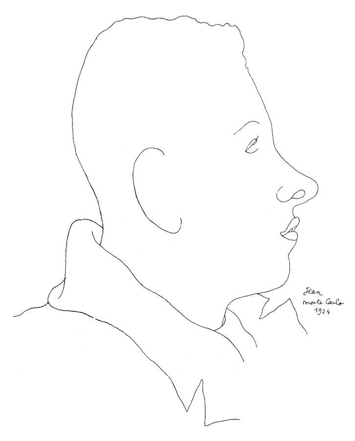 Francis Poulenc (1899-1963) Photograph