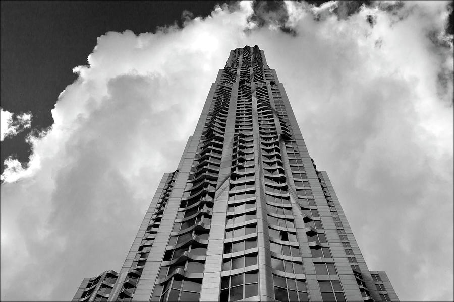 Frank Gehry High Rise Lower Manhattan Photograph