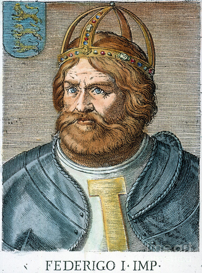 frederick barbarossa Read the biography and military history of frederick i barbarossa, who reigned as holy roman emperor from 1155 to 1190.
