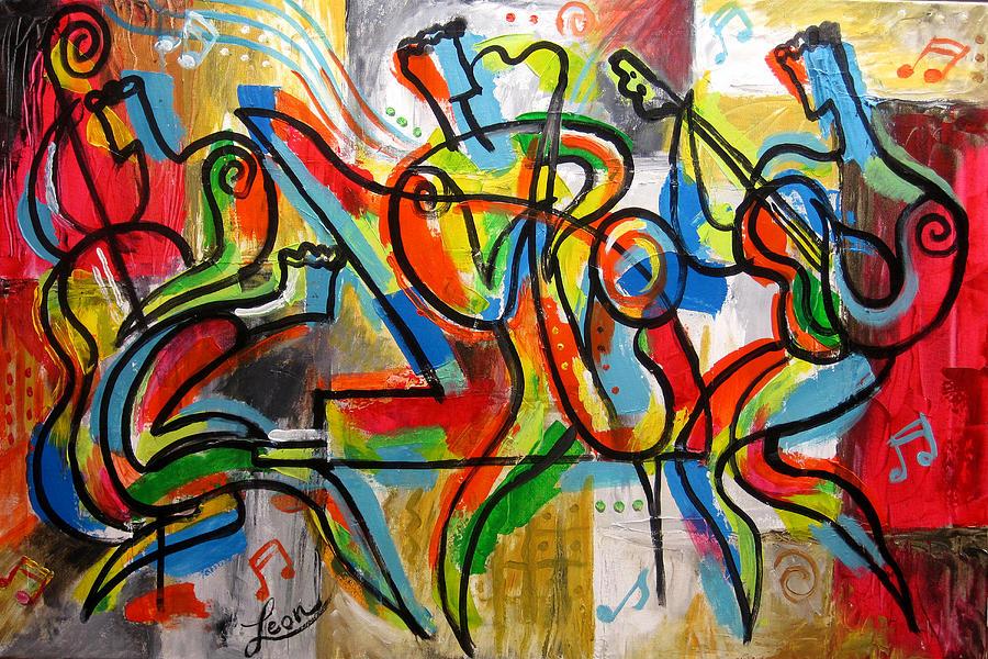 Free Jazz Painting