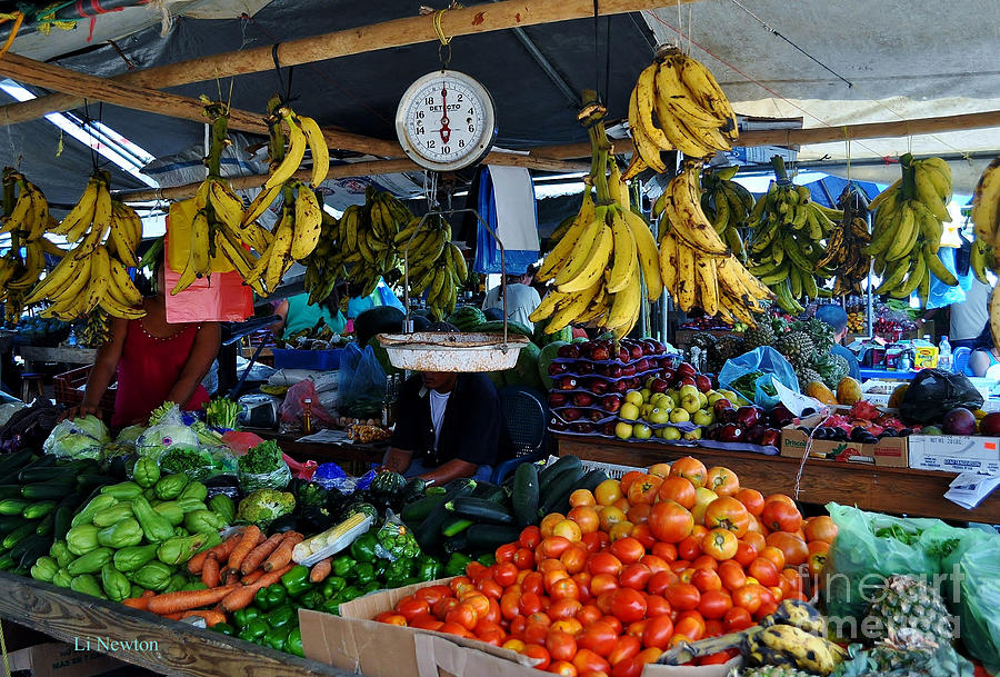 Fruit For Sale Photograph
