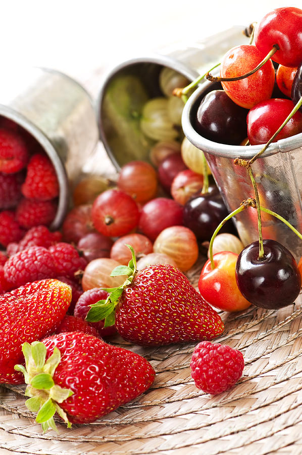 Fruits And Berries Photograph