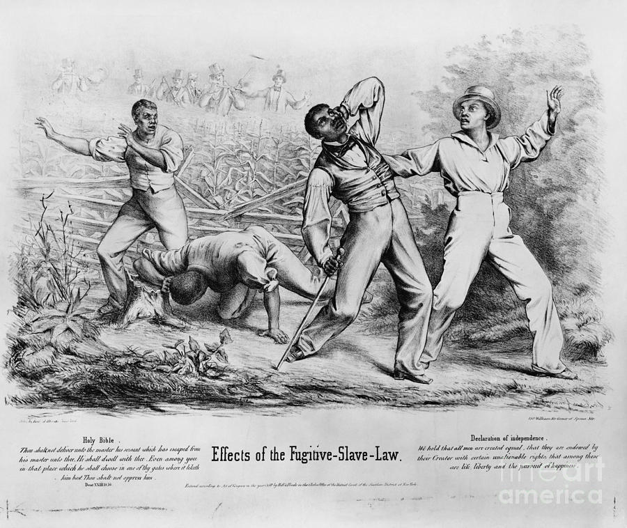 Fugitive Slave Law Photograph