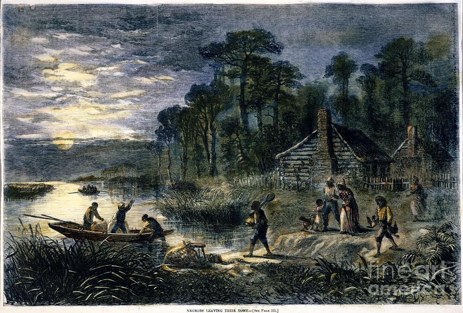 Fugitive Slaves, 1864 Photograph