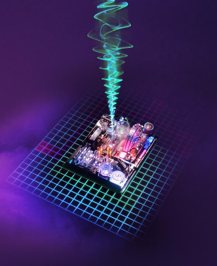Future Computing, Conceptual Image Photograph