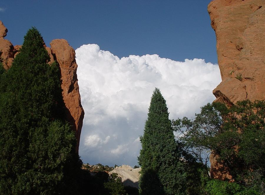Garden Of The Gods Colorado Photograph