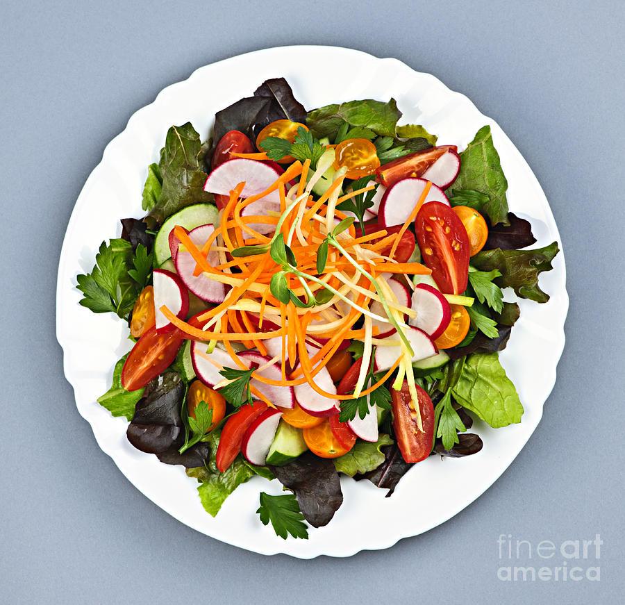 Garden Salad Photograph