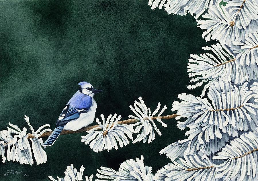 Geai Bleu No. 2 Painting