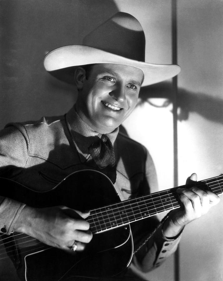 Gene Autry, C. 1940s Photograph