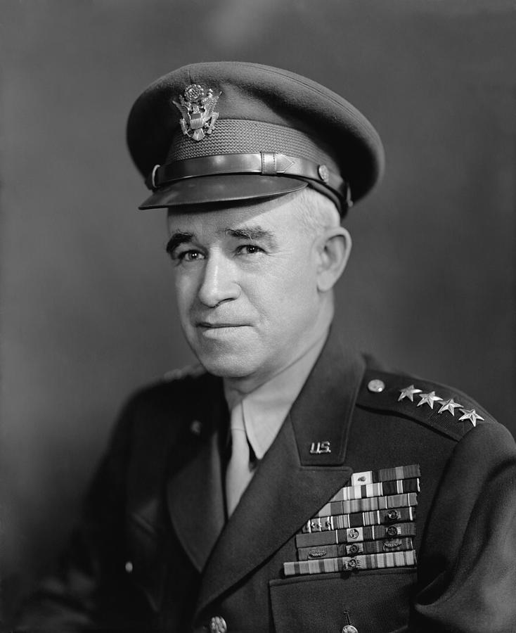 General Omar Bradley Photograph  - General Omar Bradley Fine Art Print