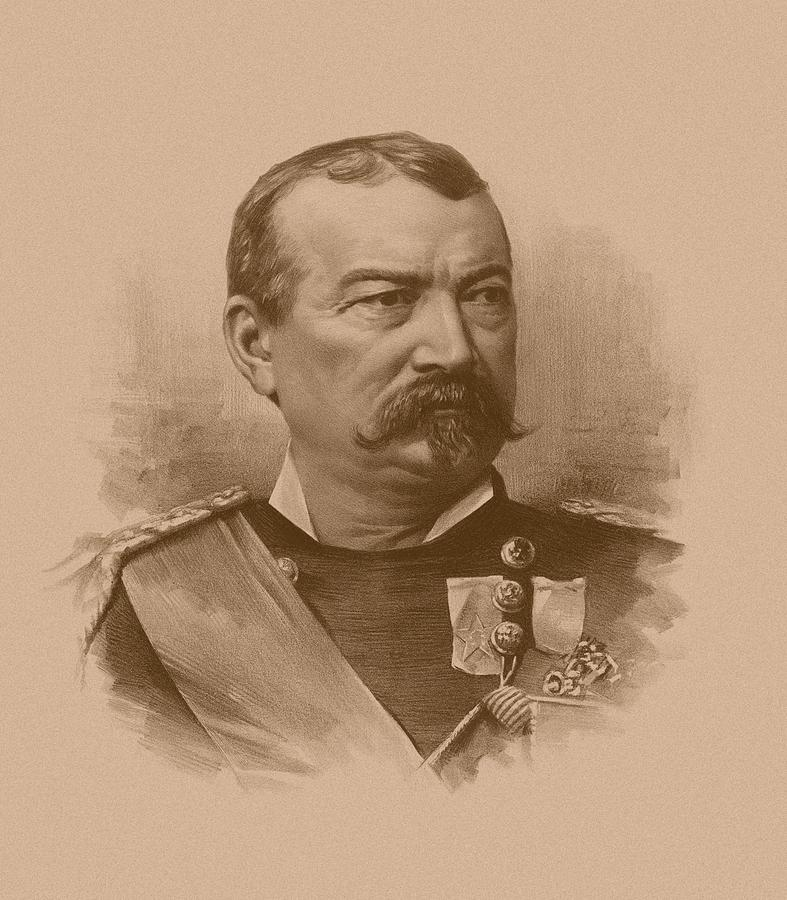 General Philip Sheridan Drawing