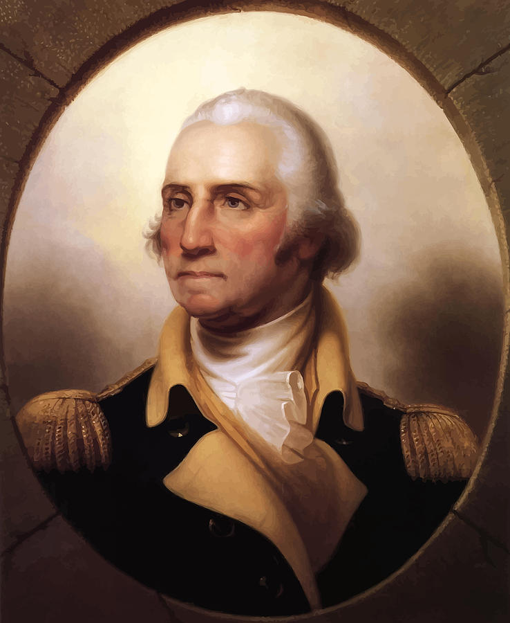 General Washington Painting