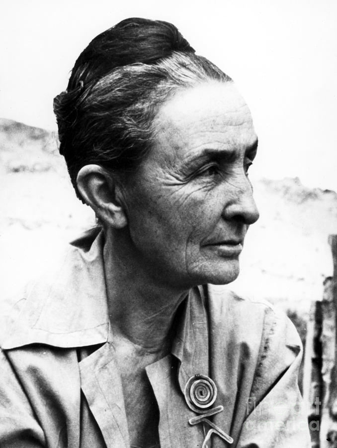 Georgia Okeeffe (1887-1986) Photograph