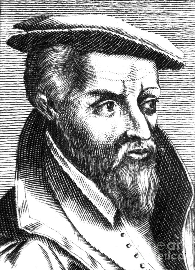 Georgius Agricola, German Scholar Photograph