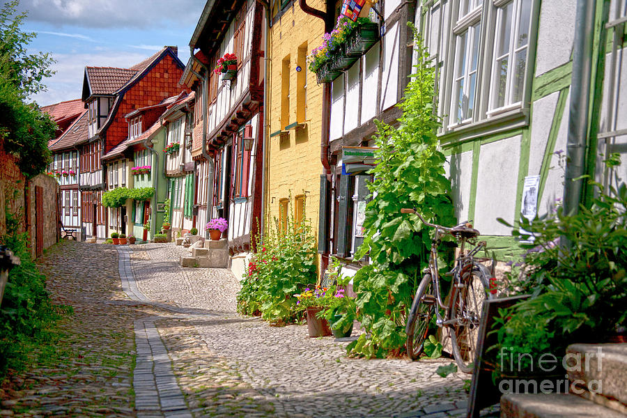 German Old Village Quedlinburg Photograph
