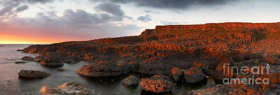 Giants Causeway At Sunset Photograph  - Giants Causeway At Sunset Fine Art Print
