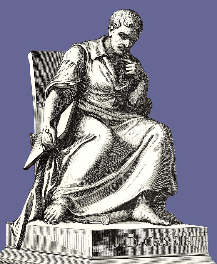 Giovanni Cassini, Italian Astronomer Photograph