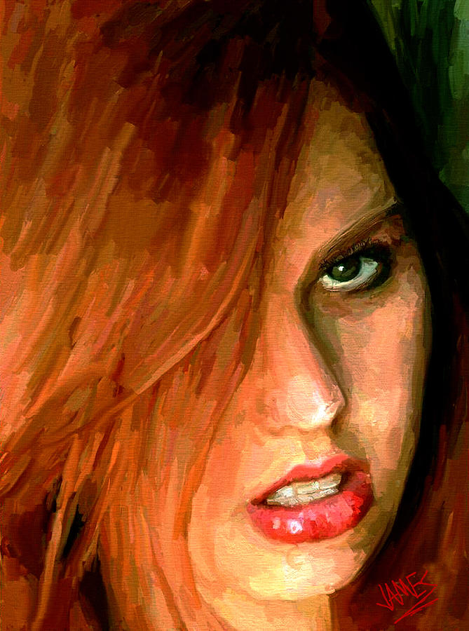 Girl Portrait 09 Painting