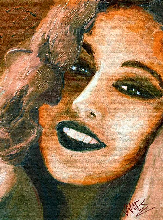 Girl Portrait 10 Painting