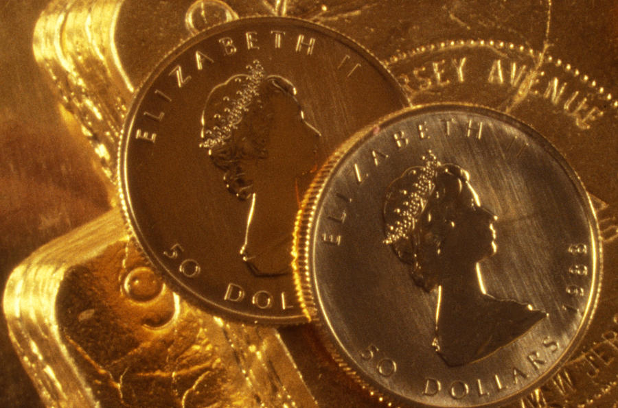 Gold Coins Photograph  - Gold Coins Fine Art Print