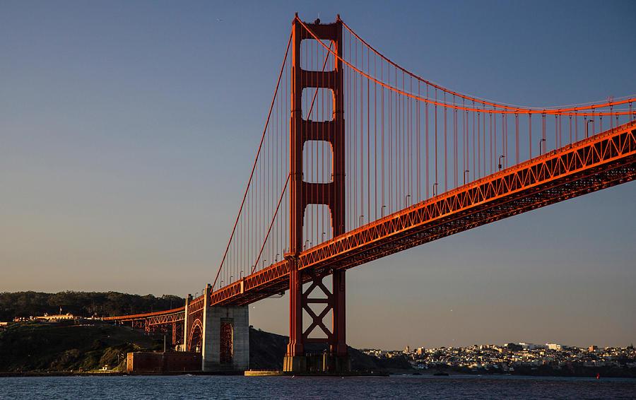 Golden Gate Bridge Photograph By Stickney Design