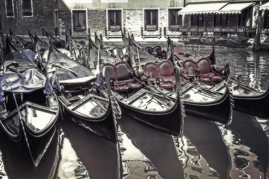 Gondolas Photograph
