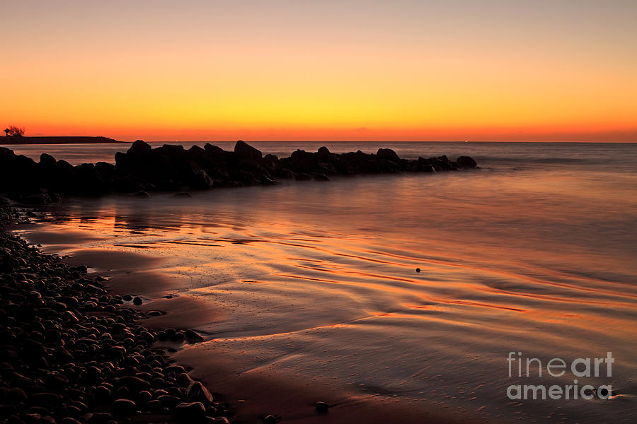 Gran Photograph - Gran Canaria Sunrise  by Pete Reynolds