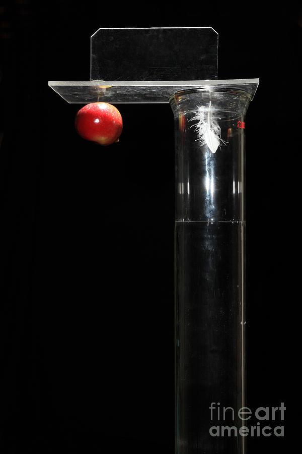 Gravity Comparison Photograph