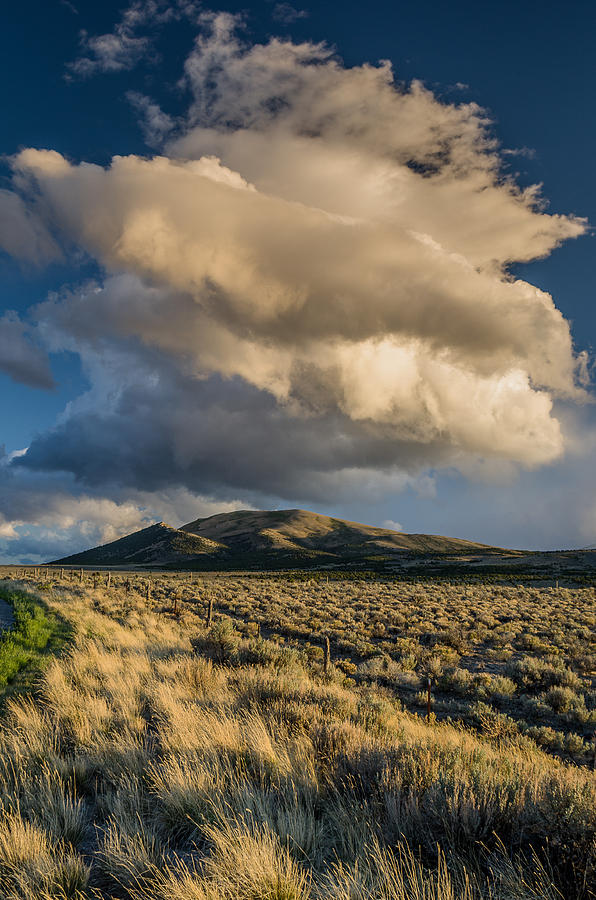 Great Basin Cloud Photograph  - Great Basin Cloud Fine Art Print