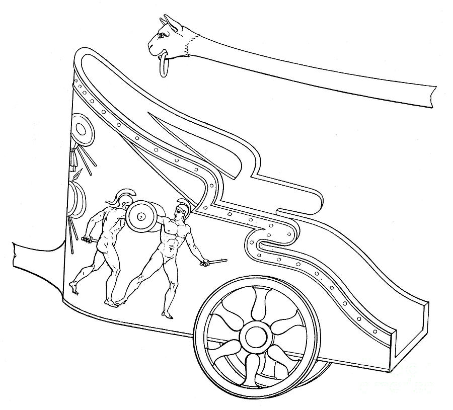 greek chariot drawing images. Black Bedroom Furniture Sets. Home Design Ideas
