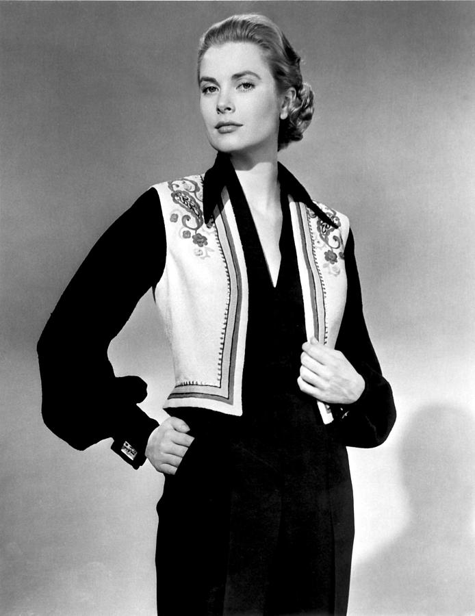 1950s Fashion Photograph - Green Fire, Grace Kelly, 1954 by Everett