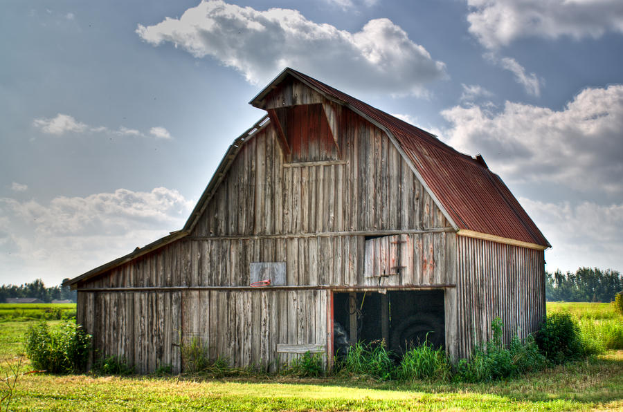 Grey Barn Photograph  - Grey Barn Fine Art Print