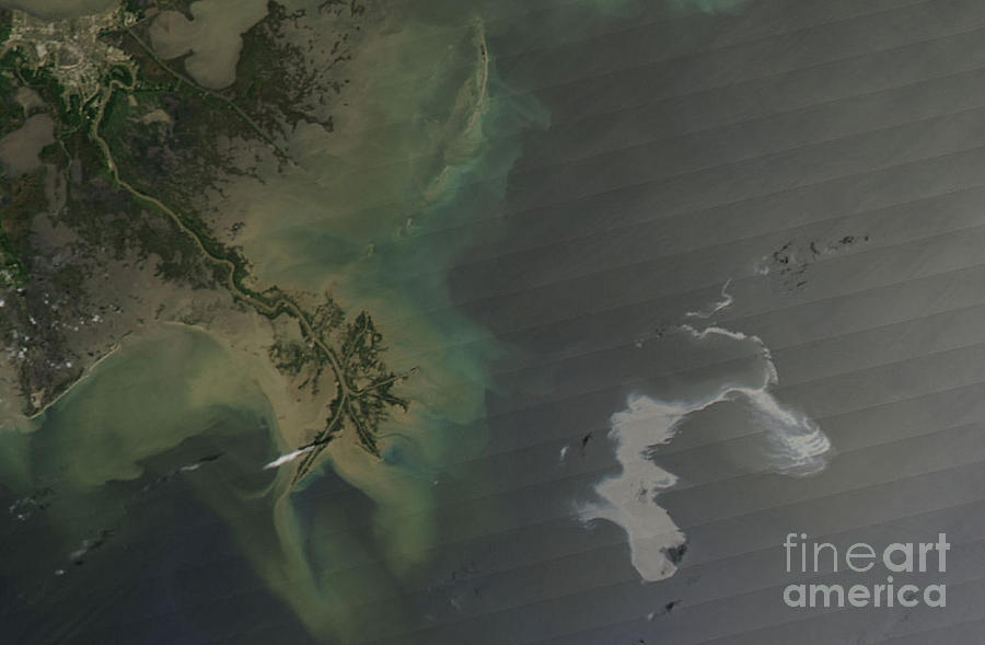 Gulf Oil Spill, April 2010 Photograph