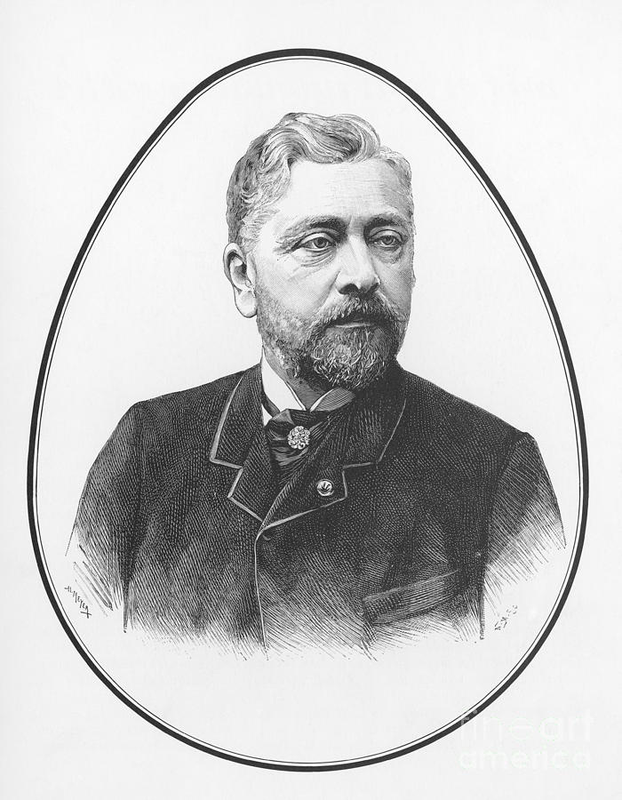 Gustave eiffel french architect photograph by science source for Eiffel architect