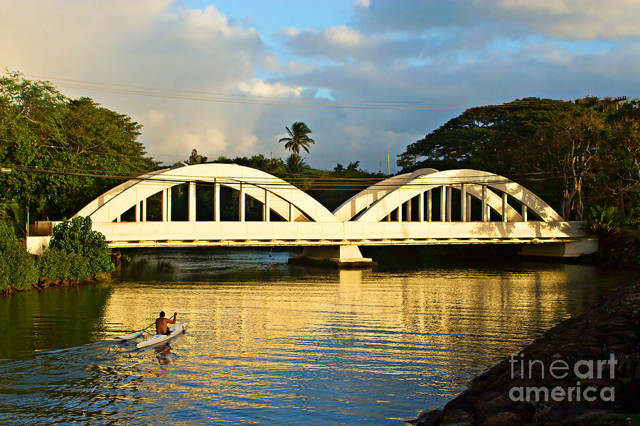 Haleiwa Bridge Photograph