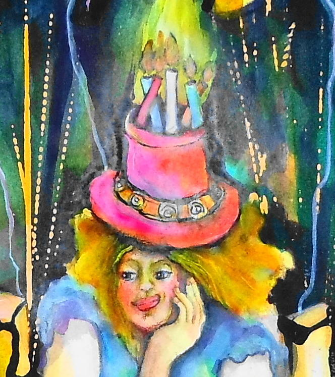 Happy Birthday Painting  - Happy Birthday Fine Art Print