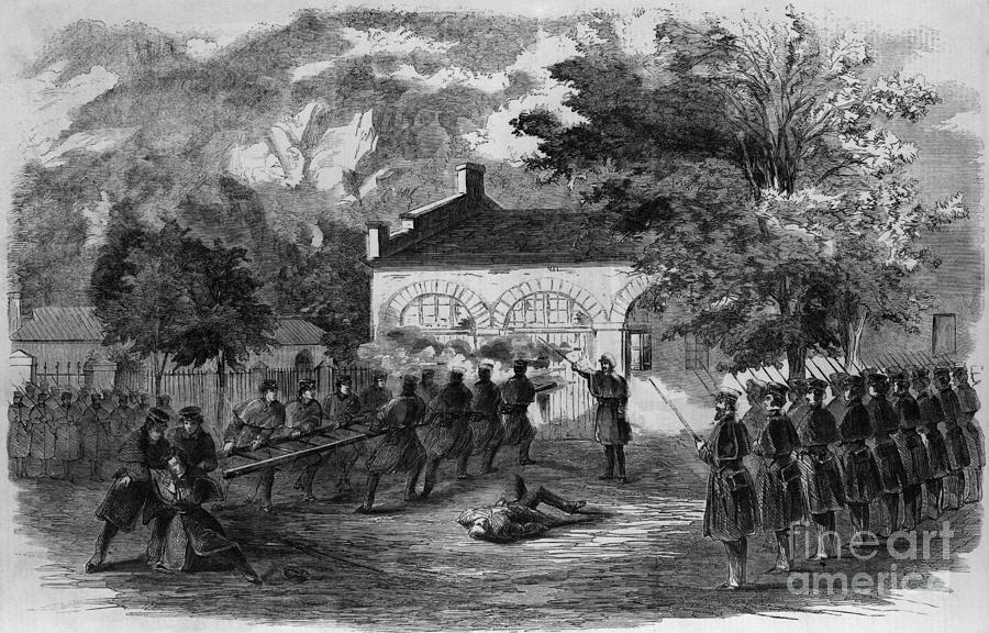 Harpers Ferry Insurrection, 1859 Photograph  - Harpers Ferry Insurrection, 1859 Fine Art Print