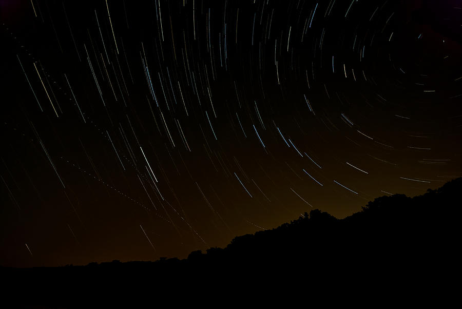 Harriman Star Trails Photograph