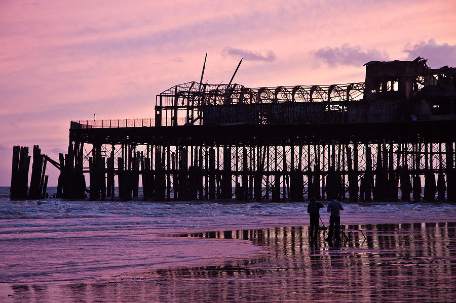 Hastings Pier After The Fire Photograph