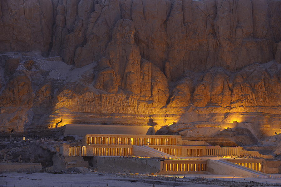 Hatshepsuts Mortuary Temple Rises Photograph