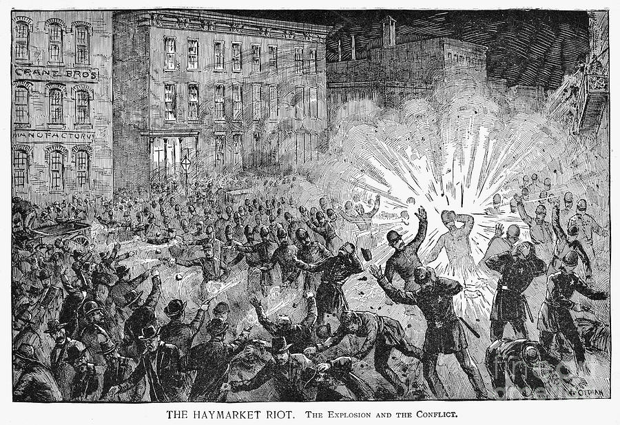 haymarket riot Research proposal • topics of inquiry: the chicago bombing during the haymarket riot caused uproar throughout the crowd it was supposed to be a peaceful protest.