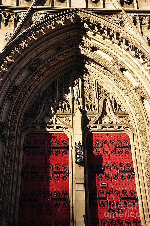 Heinz Chapel Doors Photograph