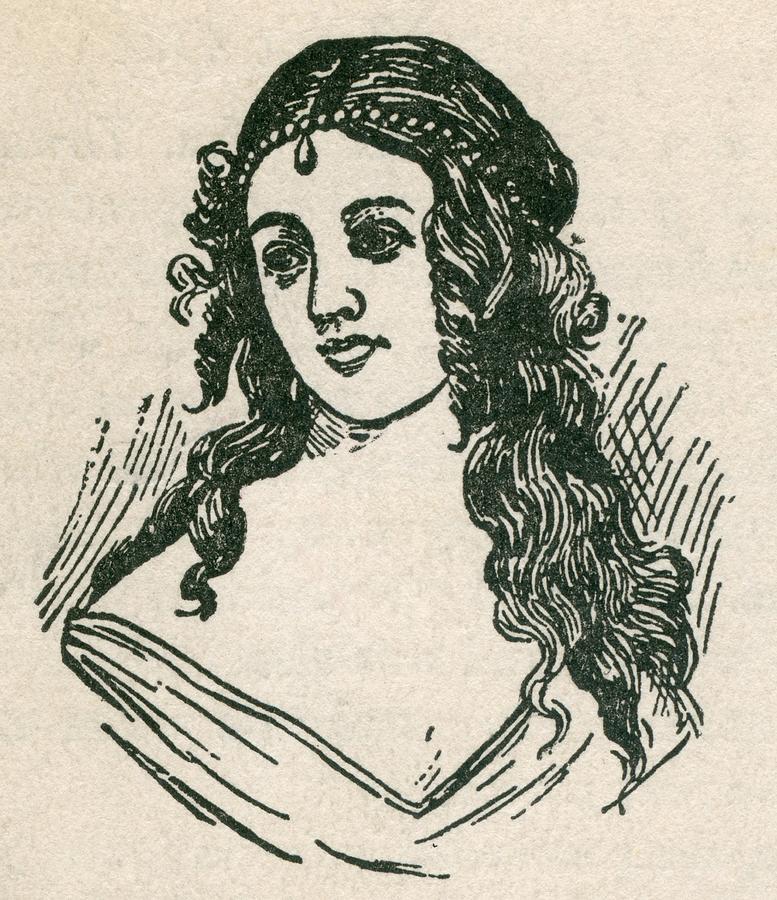 Helen Jewett 1813-1836 Was An New York Photograph