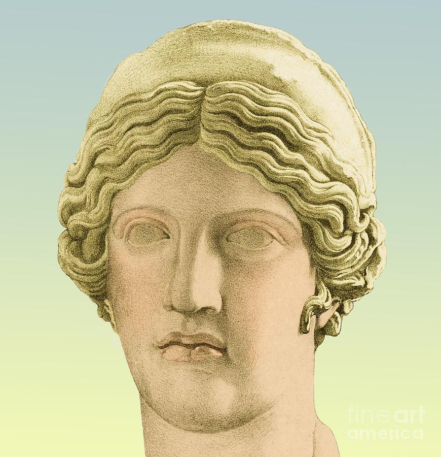 Hera, Greek Goddess Photograph by Photo Researchers