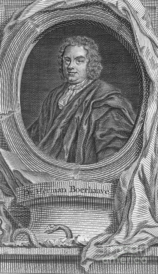 Herman Boerhaave, Dutch Physician Photograph  - Herman Boerhaave, Dutch Physician Fine Art Print