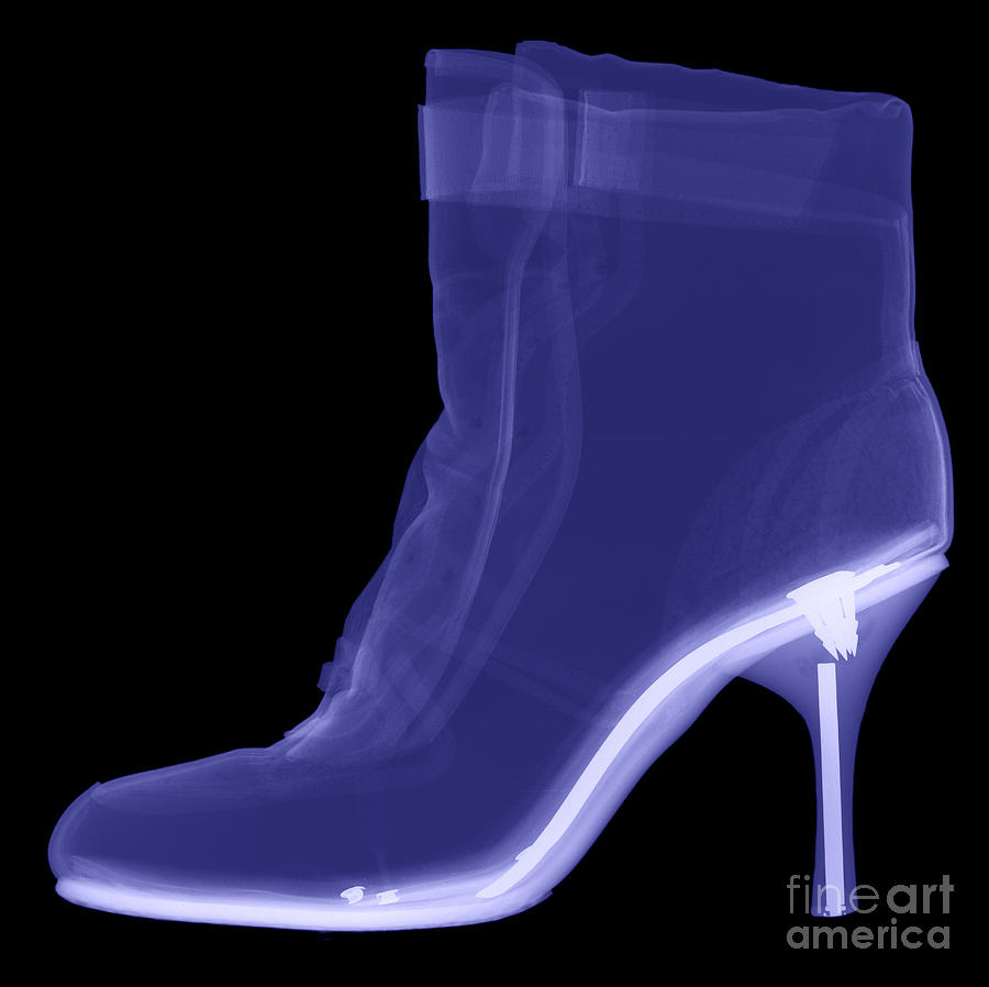 High Heel Boot X-ray Photograph